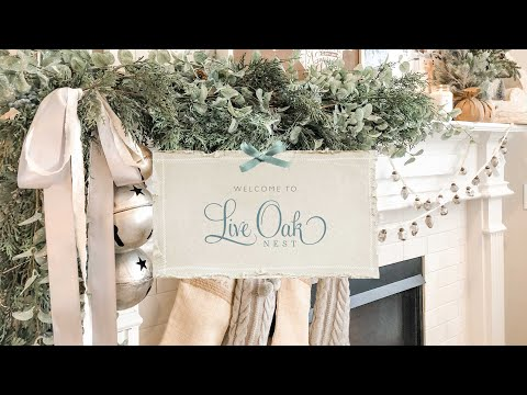 Live Oak Nest | French Country Farmhouse Christmas Tour