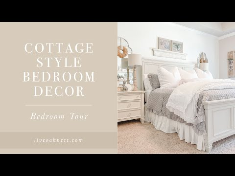 Cottage Style Bedroom Decor, French Cottage Style Home Tour