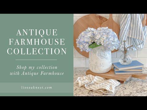 Antique Farmhouse Collection with Live Oak Nest