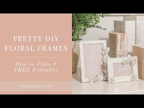 Dollar Store Frame DIY, DIY Shabby Chic Frames