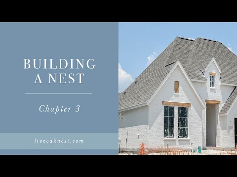 Building A Nest Chapter Three, Cottage Farmhouse Home, New Construction Home Tour