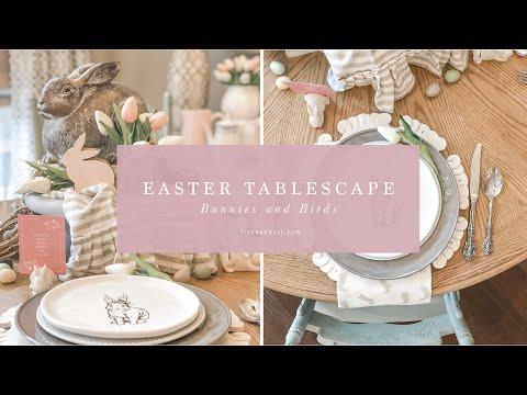 Live Oak Nest Easter Tablescape