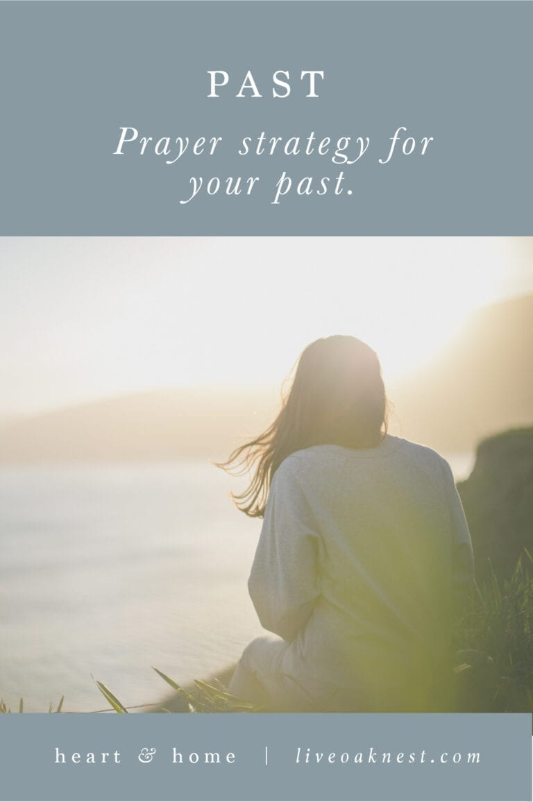 Prayer Strategy for Your Past
