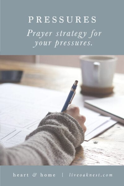 Fervent: Prayer Strategy for Your Pressures
