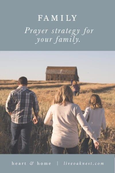 Fervent: Prayer Strategy for Family