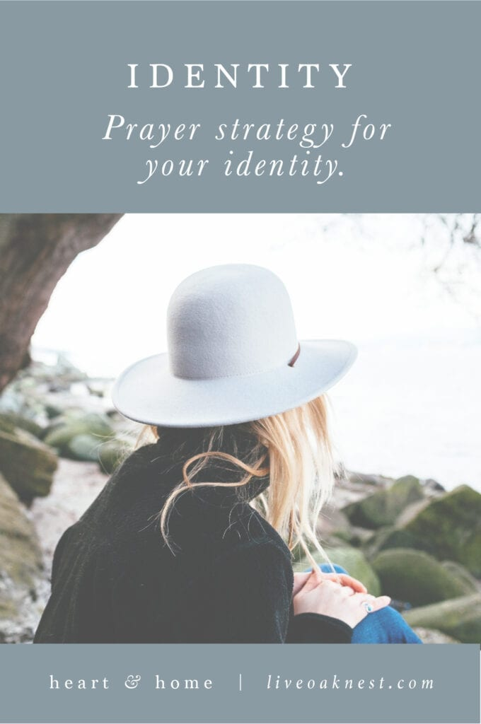 Prayer Strategy for Identity from Fervent by Priscilla Shirer