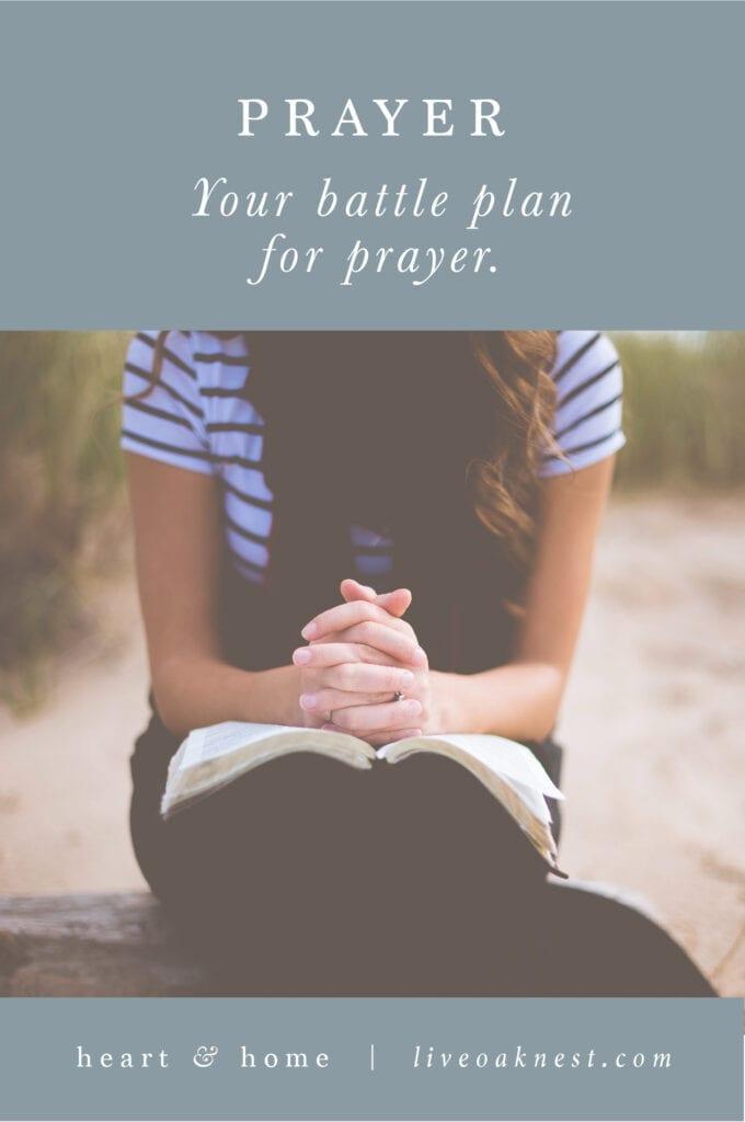 Fervent Prayer Strategies , Fervent by Priscilla Shirer Book Study with Live Oak Nest www.liveoaknest.com