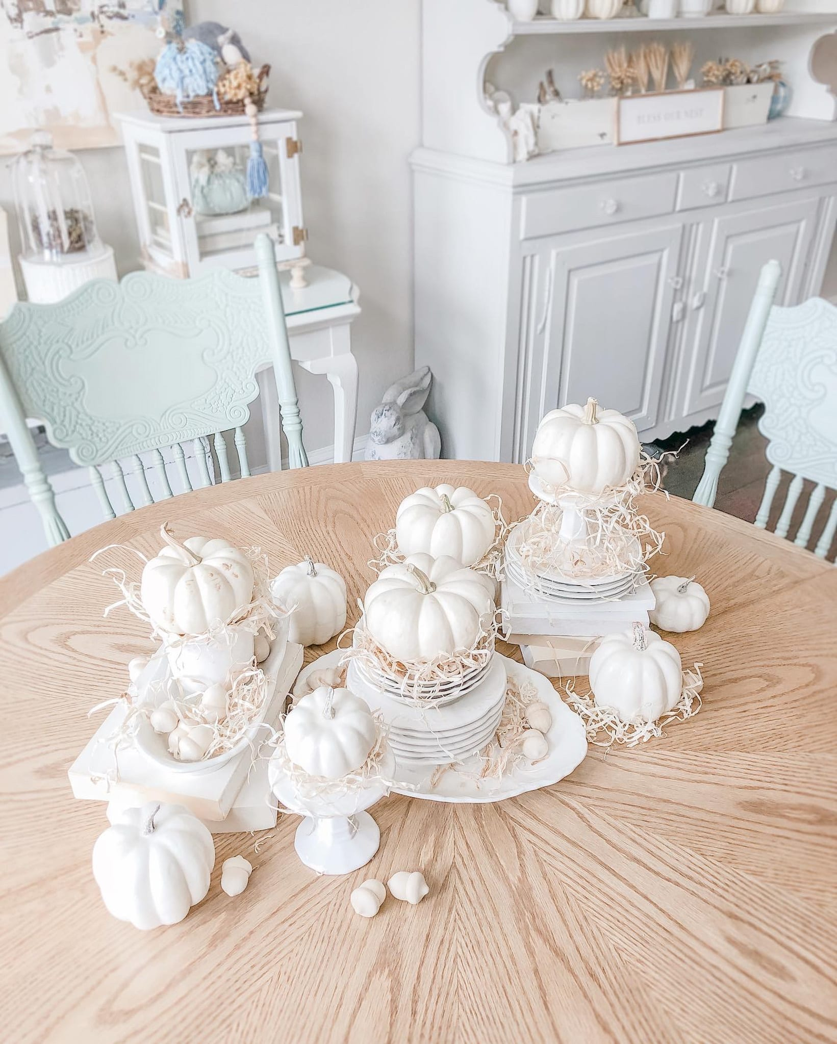 Fall Tablescape Live Oak Nest