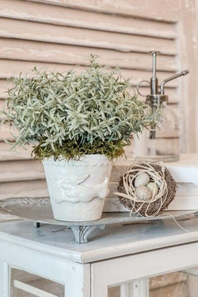 Bunny Decor DIY Flower Pot