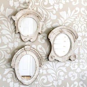 Antique Mirror Set from Antique Farmhouse