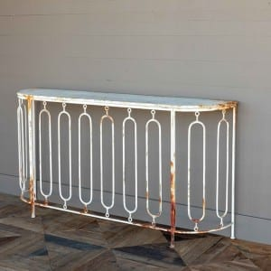 Rusty Console Table from Antique Farmhouse