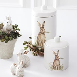Bunny Canisters from Antique Farmhouse