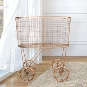 French Farmhouse Laundry Basket from Antique Farmhouse
