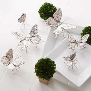 Butterfly Accents from Antique Farmhouse