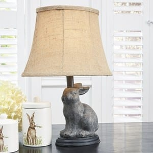Bunny Lamp from Antique Farmhouse