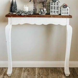 Entry Table from Antique Farmhouse