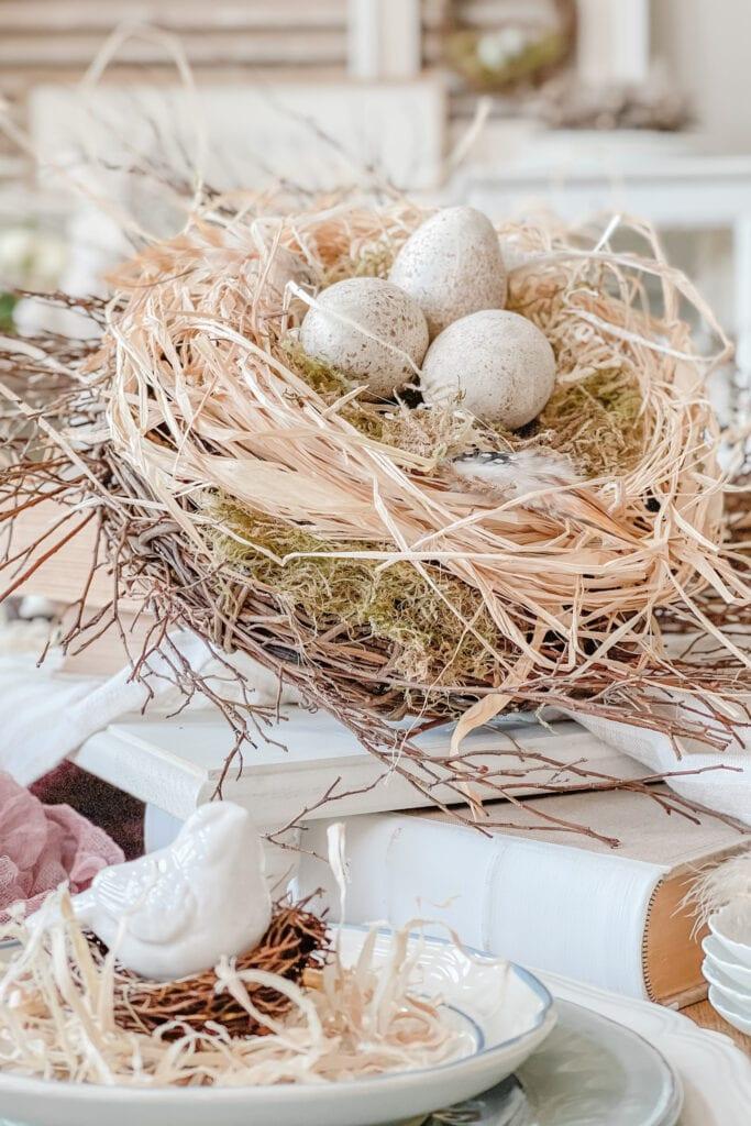 DIY Bird Nest Tutorial, Birds Nest DIY, Nest Craft, Bird Nest How-to from Live Oak Nest www.liveoaknest.com