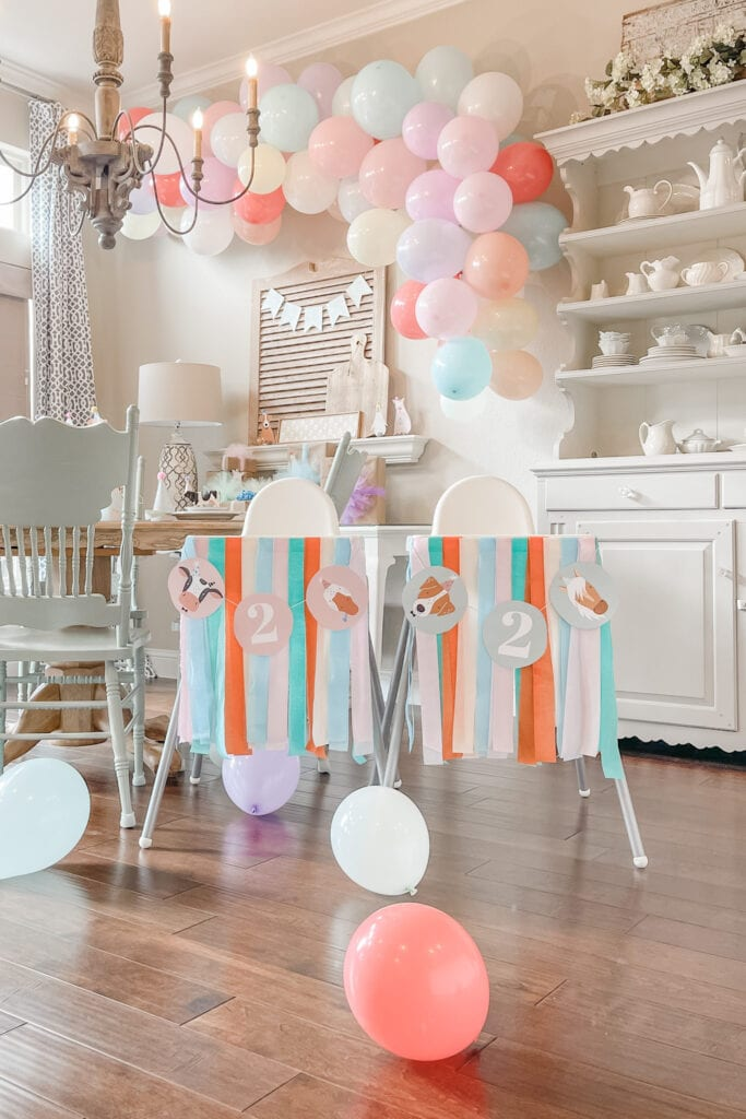 Party Animal Theme Party Ideas, Farm Animal Party, Twin Birthday Party, Boy Girl Birthday Party, BG Birthday Party from Live Oak Nest