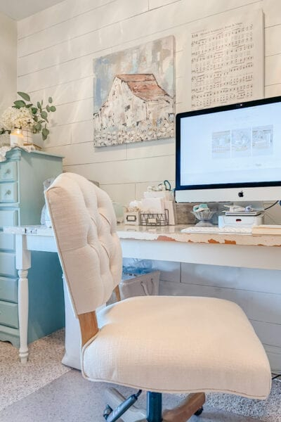 DIY Old Door Desk