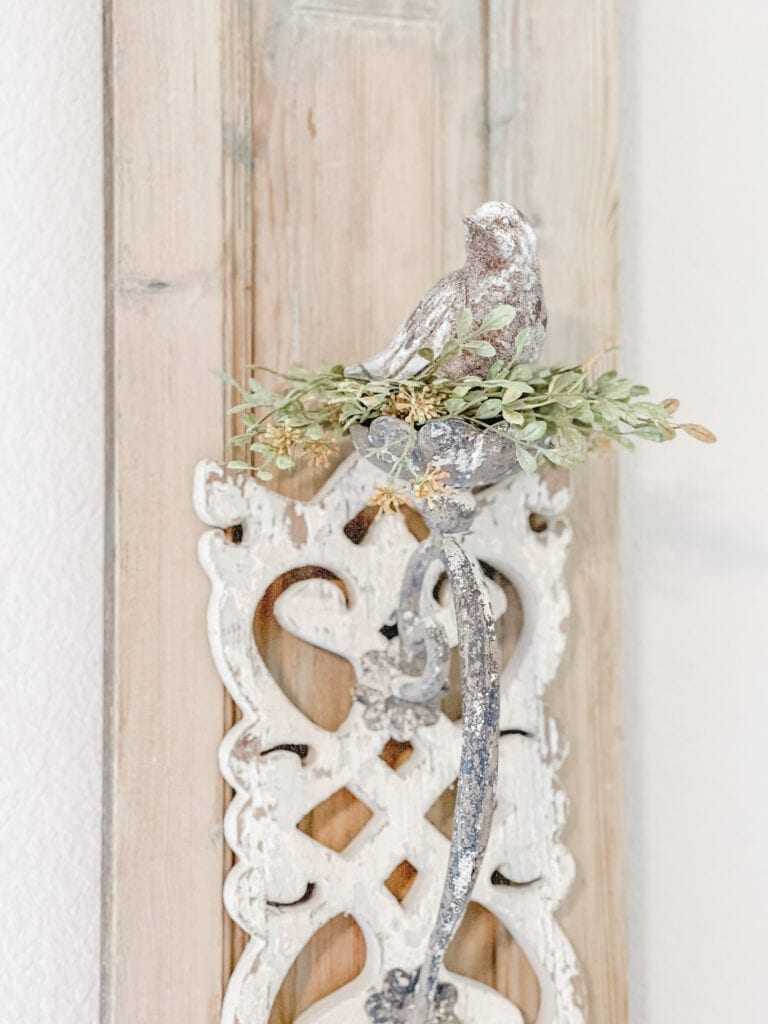 French Country Shutter, Rustic Wall Decor from Live Oak Nest www.liveoaknest.com