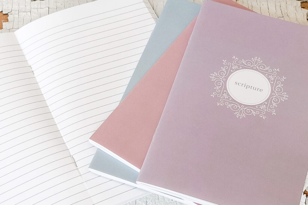 Scripture Journal, Prayer Journal, Gratitude Journal, War Binder, Faith Journal from Live Oak Nest www.liveoaknest.com