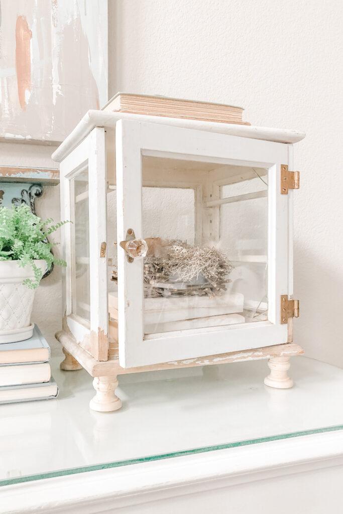 Antique Medicine Cabinet from Live Oak Nest www.liveoaknest.com