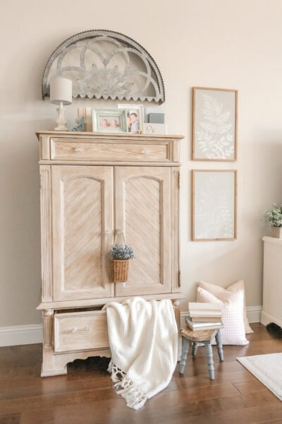 TV Wooden Cabinet Makeover