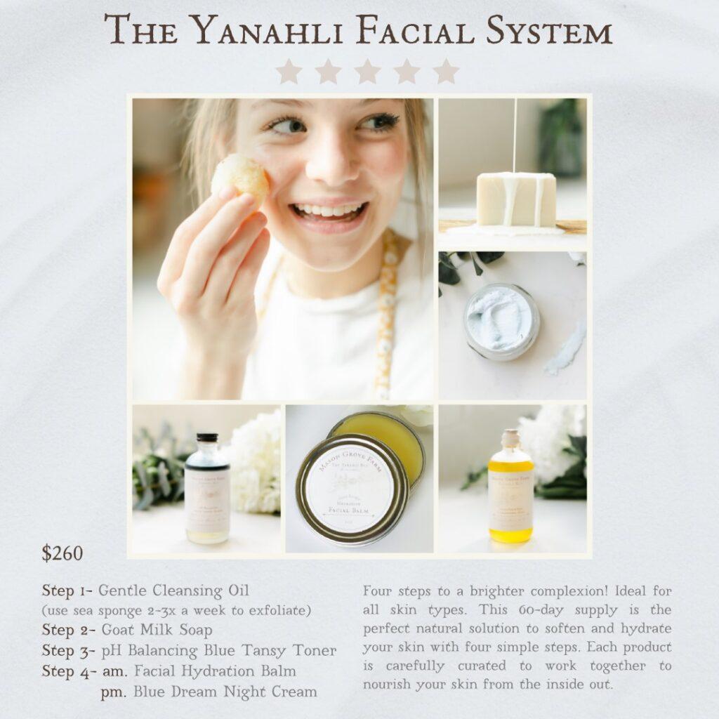 Yanahli Facial System Mason Grove Farm
