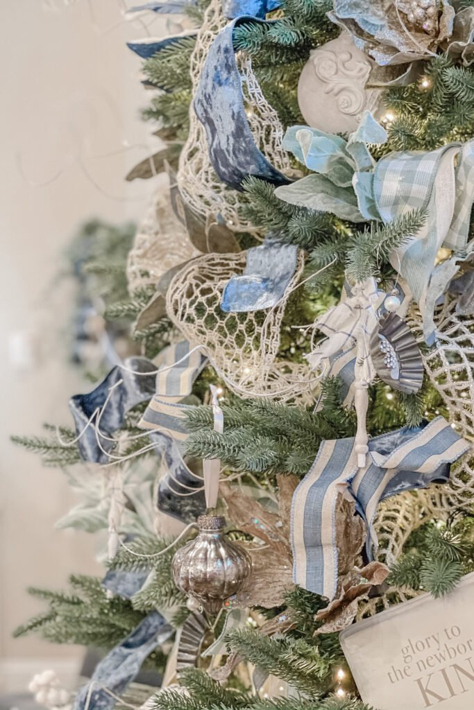 DIY Chippy Spindle Ornaments