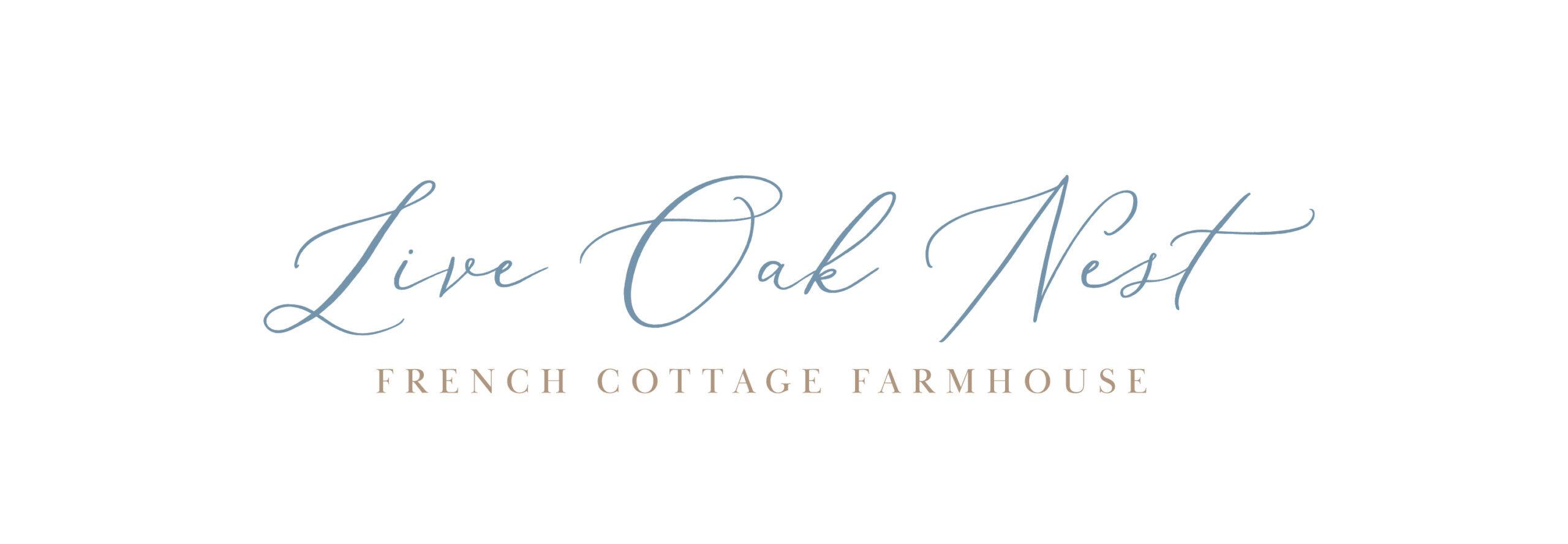 Live Oak Nest, French Cottage Farmhouse